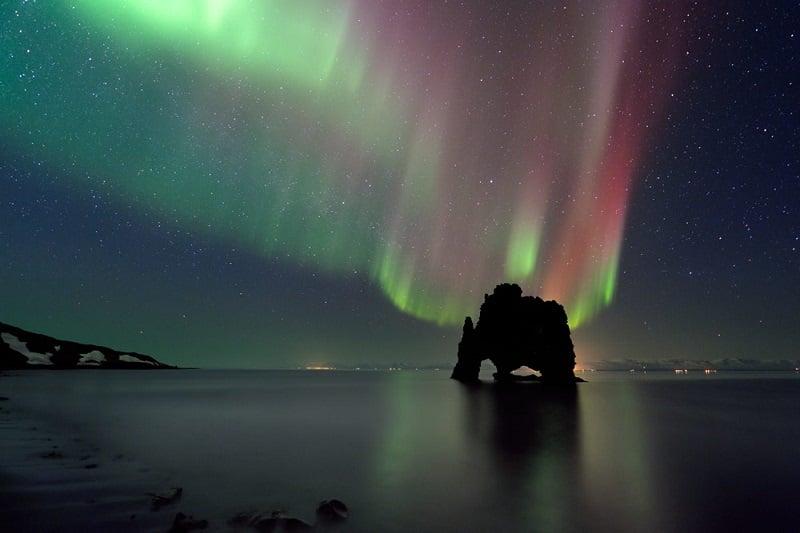Hvitserkur in North Iceland