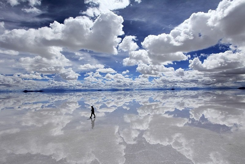 Salar de Uyuni Surreal Places