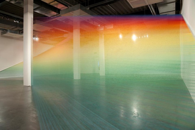 Plexus no. 10 Thread Installations by Gabriel Dawe
