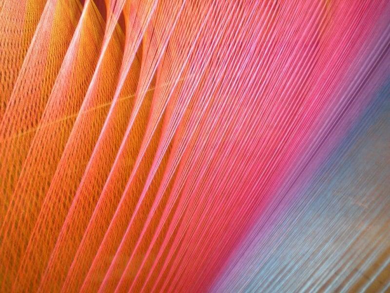 Close-up View of Plexus Series Thread Installations
