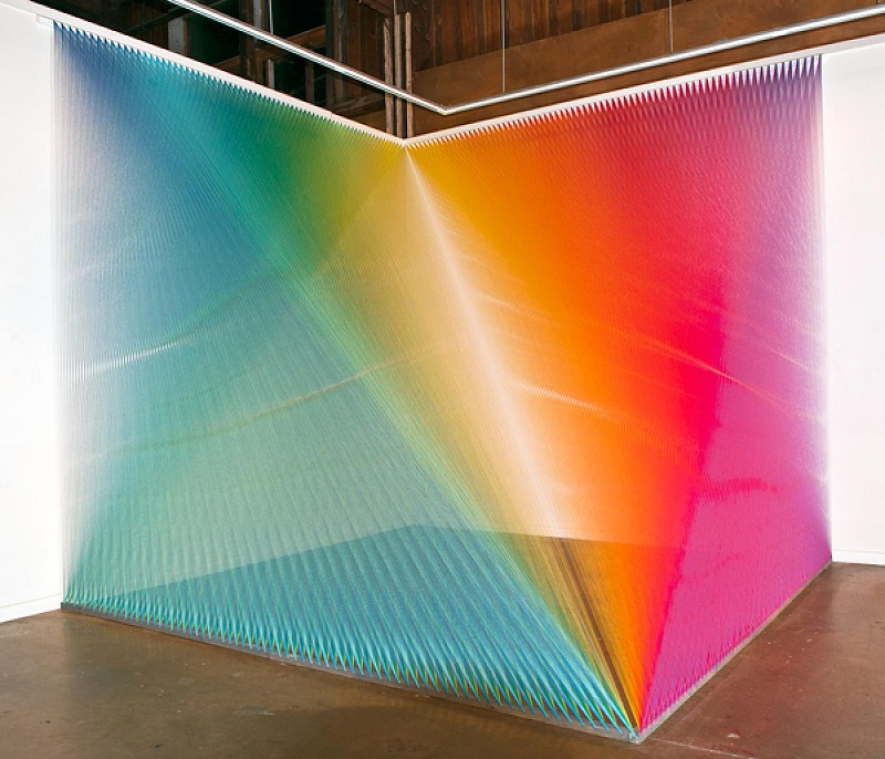 Gabriel Dawe Thread Installations