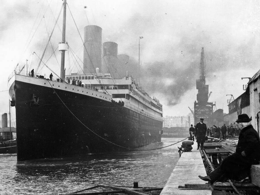 Titanic At Port