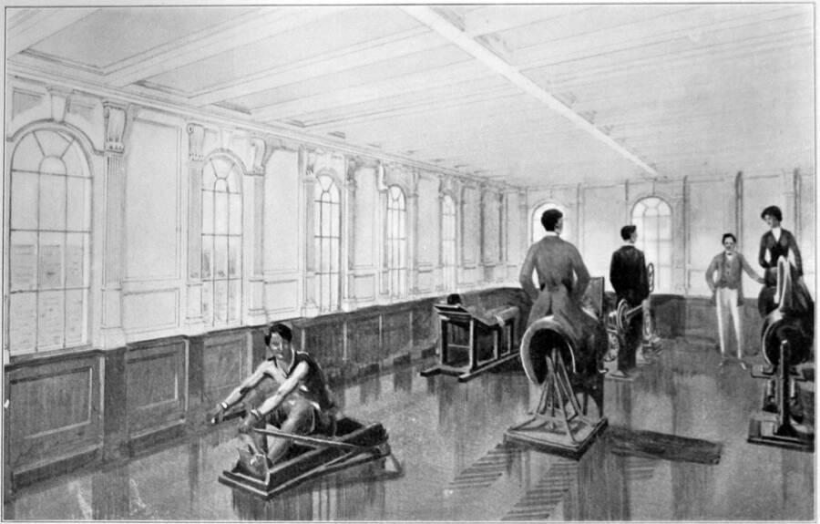 Illustration Of Exercise Machines