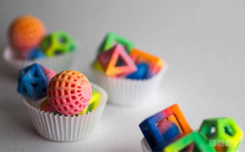 3D Printers Cupcakes