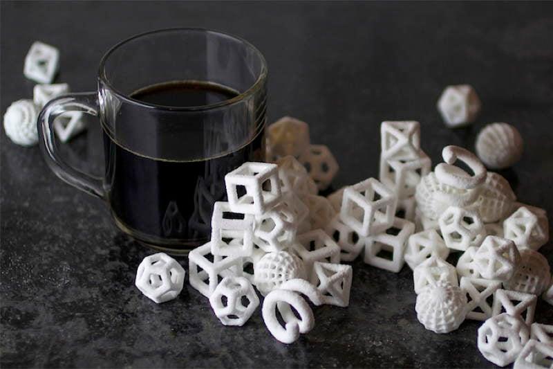 3D Printers Sugar Cubes