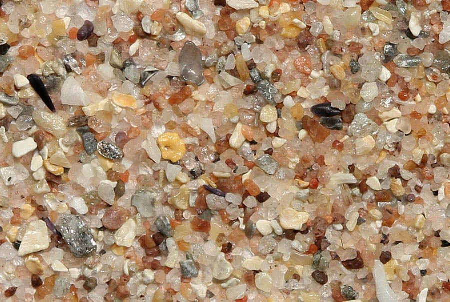 Sand Magnified From Highland Scotland