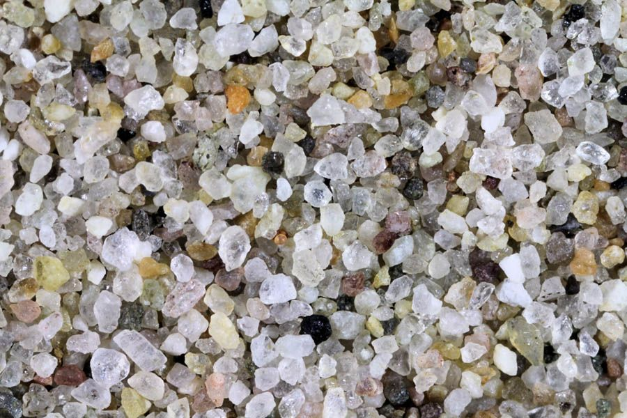 Magnified Sand Pictures