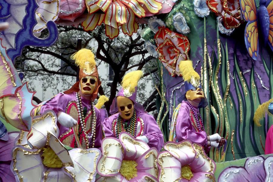 Mardi Gras Creepy Masks