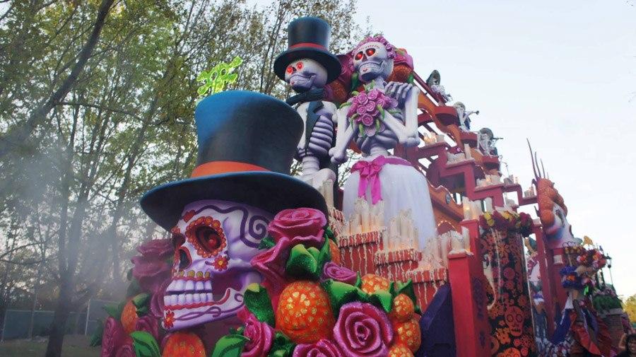 Mardi Gras Day Of Dead