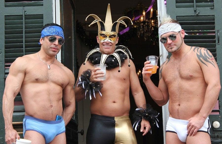 Mardi Gras Party Guys
