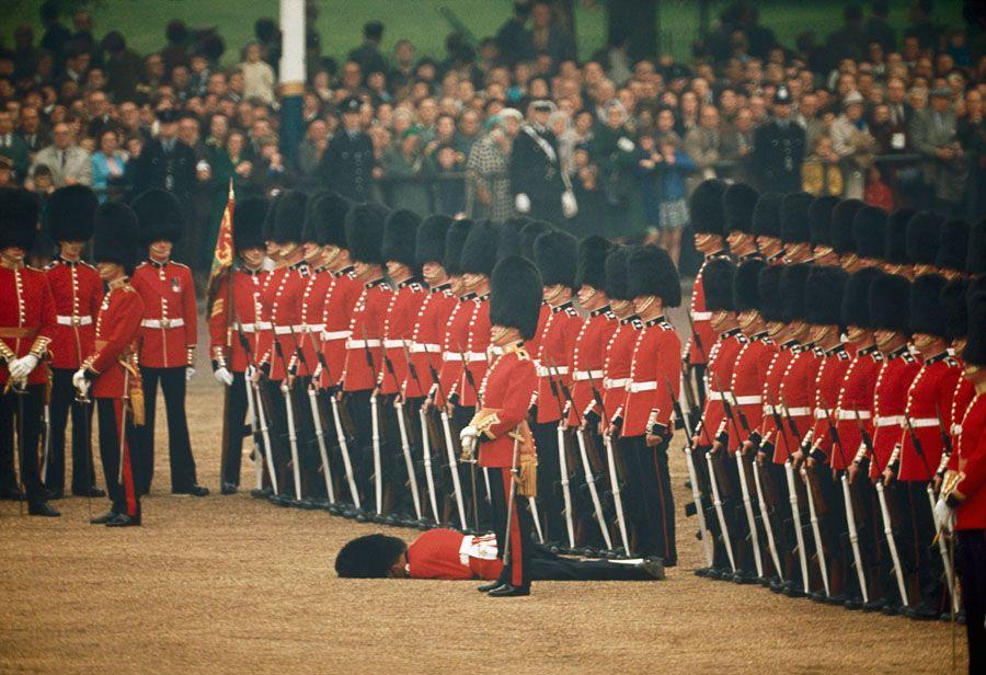 Irish Guard Down
