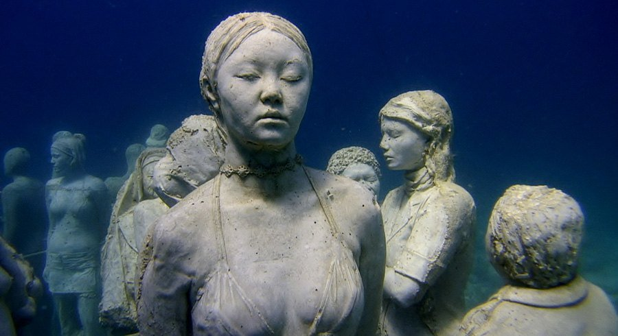 Underwater Museum Deep Meditation
