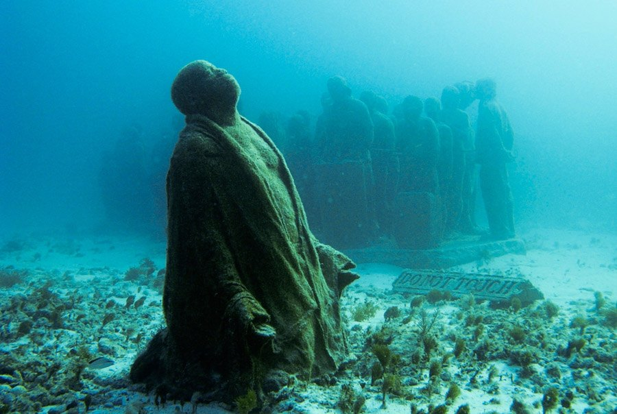 Underwater Museum Final Prayer