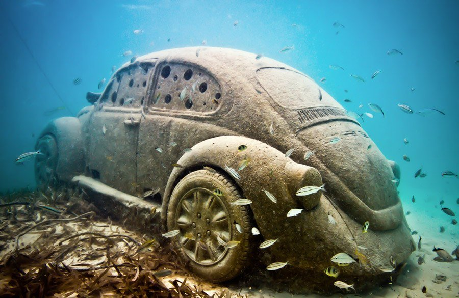 Underwater Museum Submerged VW