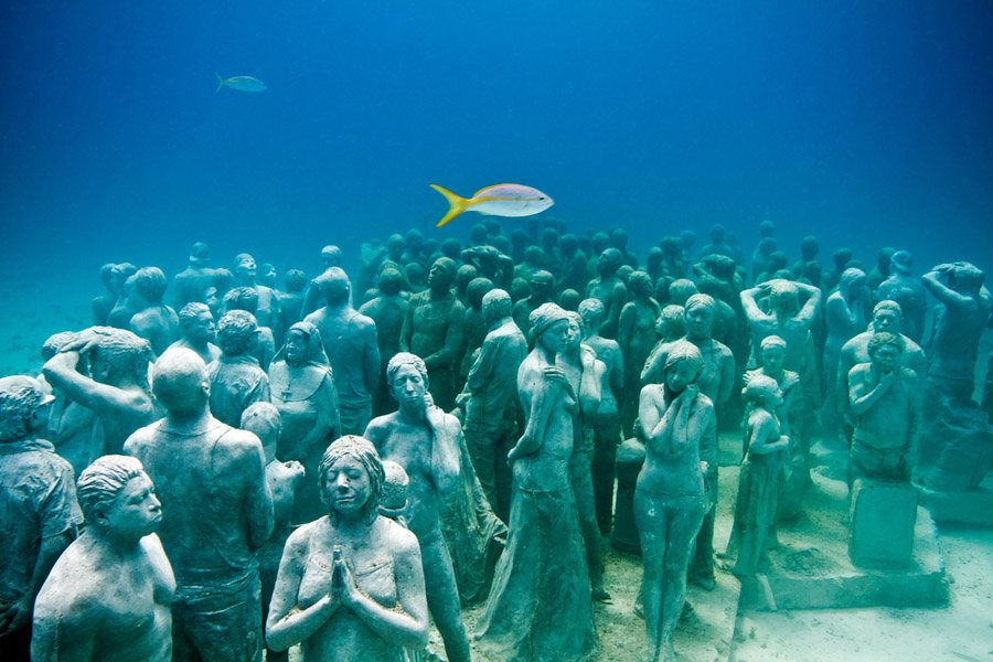 Underwater Museum Tranquil Serenity