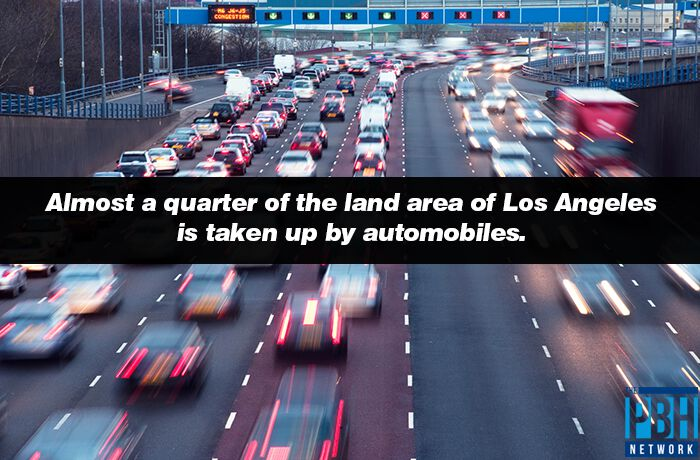 Automobiles In Los Angeles Interesting Fact