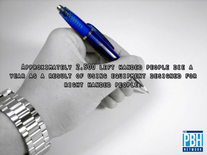 Average Life Span Of Left Handed People