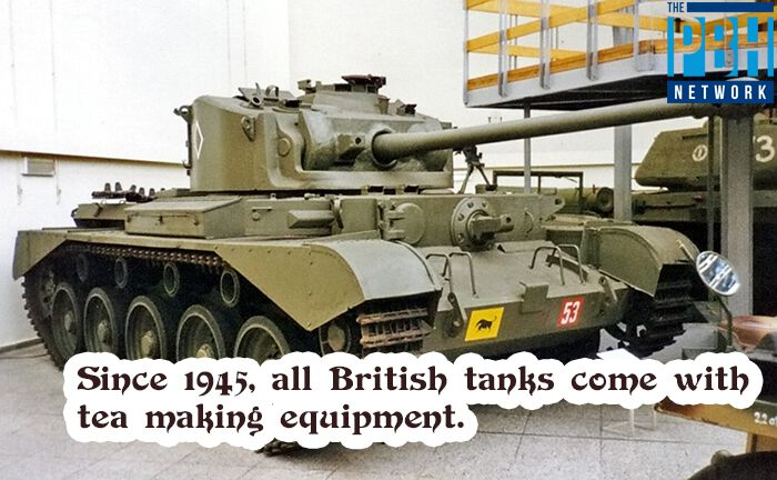 British Tanks And Tea