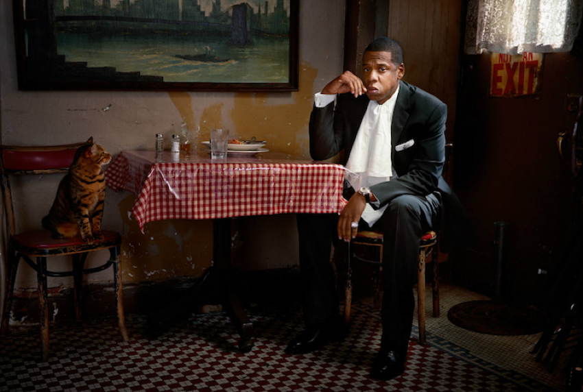 Celebrity Portraits Jay Z