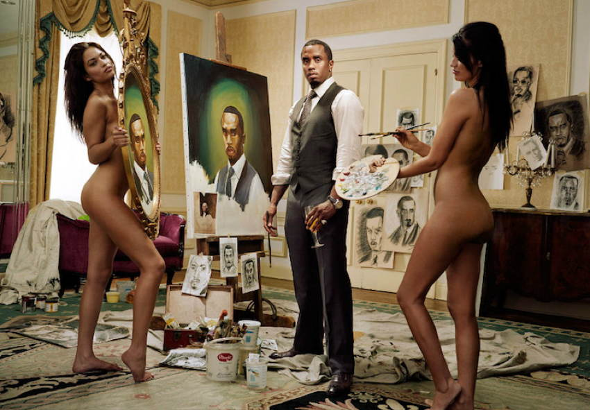 Celebrity Portraits Sean Combs