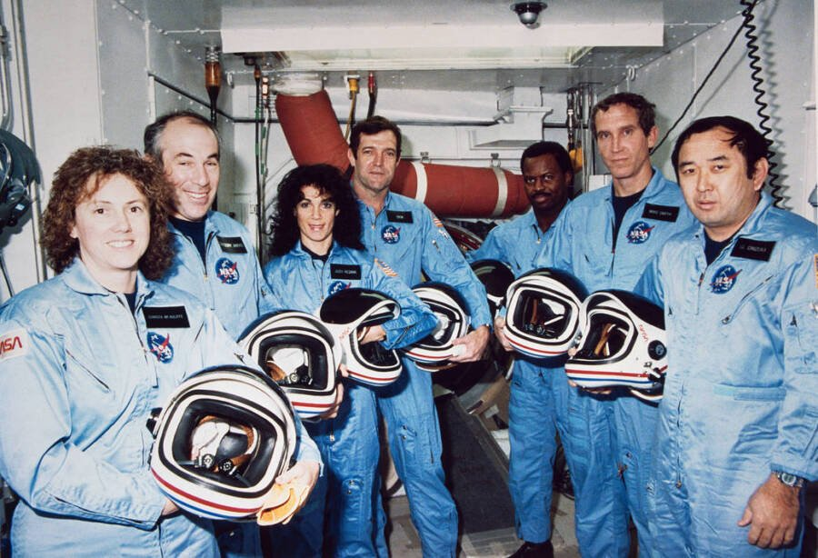 The Space Shuttle Challenger Team