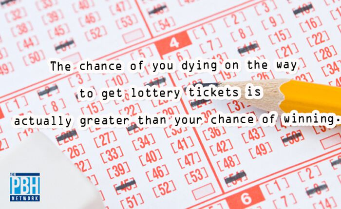 Chance Of Winning The Lottery