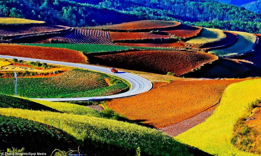 China Landscape Rainbow