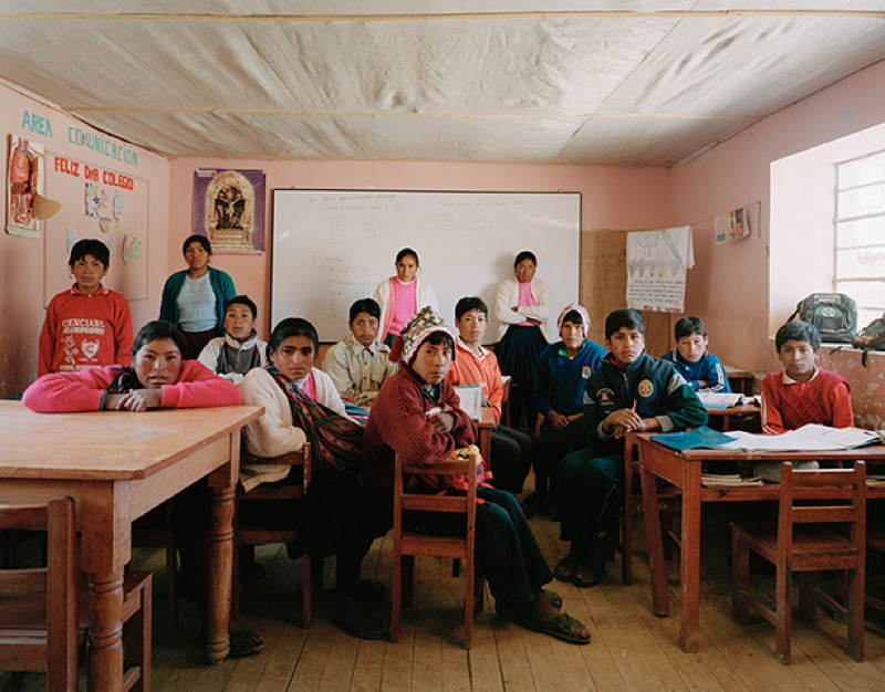 Peru Grade 2 Class