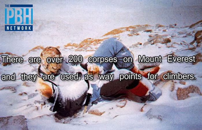Corpses On Mount Everest