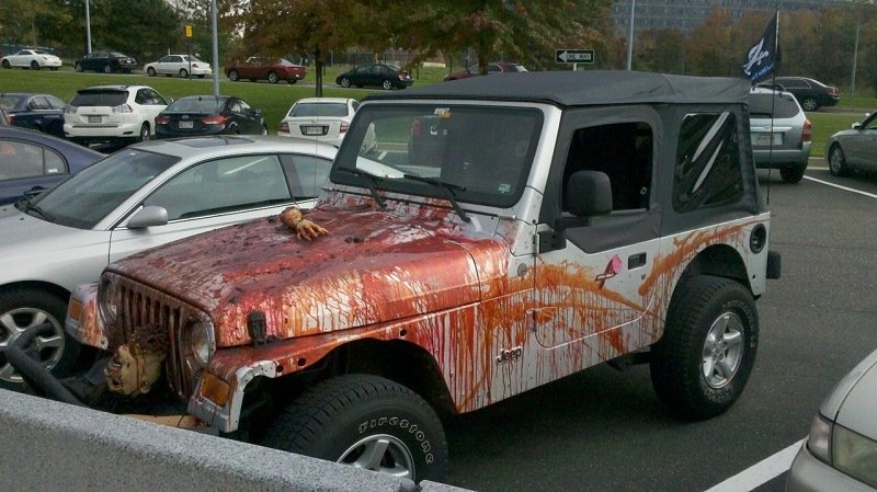Craziest Car from Halloween