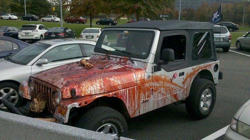 Craziest Car from Halloween