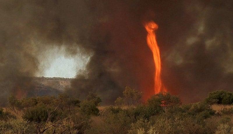 Craziest Weather Fire Tornado