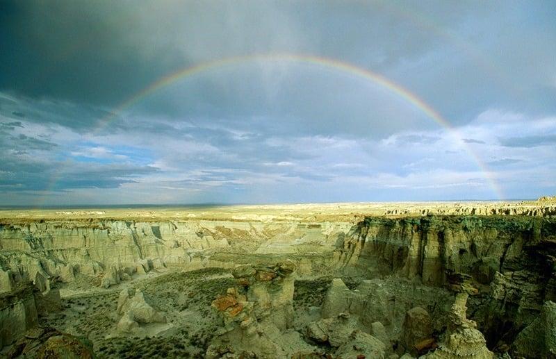 Rainbow Is Craziest Weather