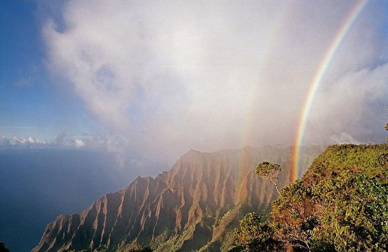 Craziest Weather Rainbows and Mist