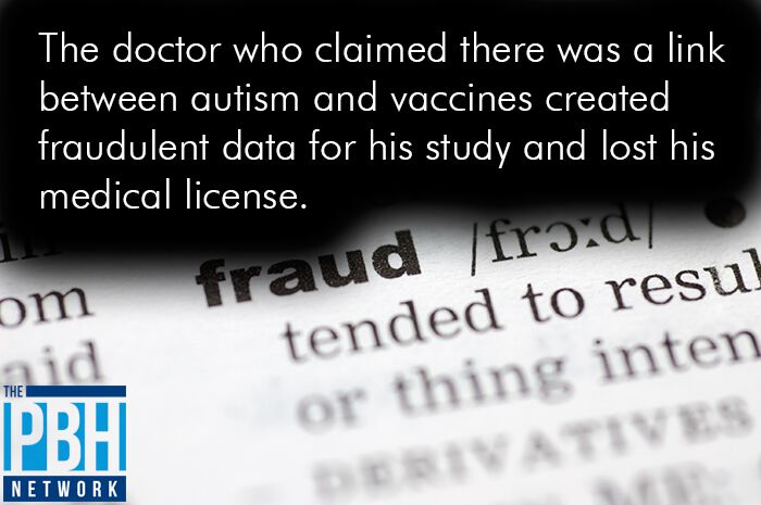 Doctor Claimed Autism Vaccines