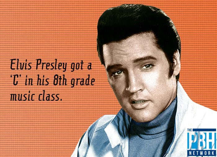Elvis Presley 8th Grade Music