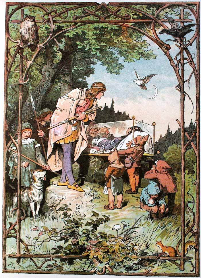 The Brothers Grimm Fairy Tales Snow White