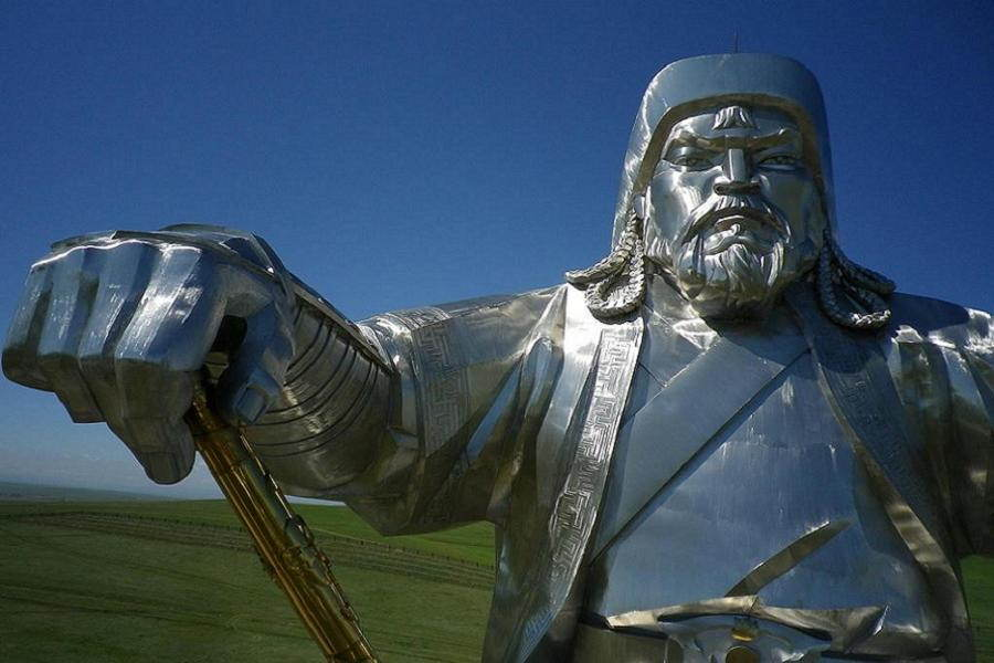 Genghis Statue