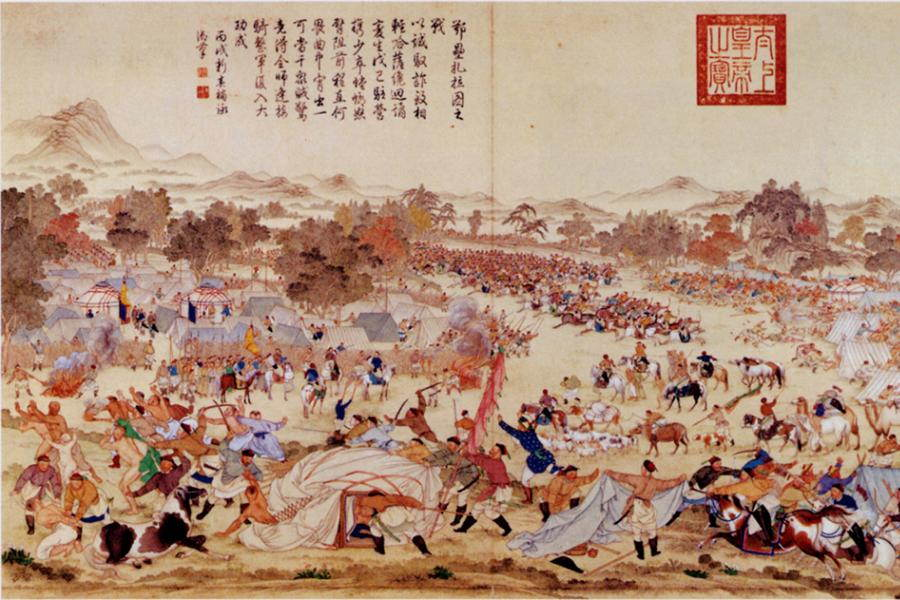 Mongol Battle