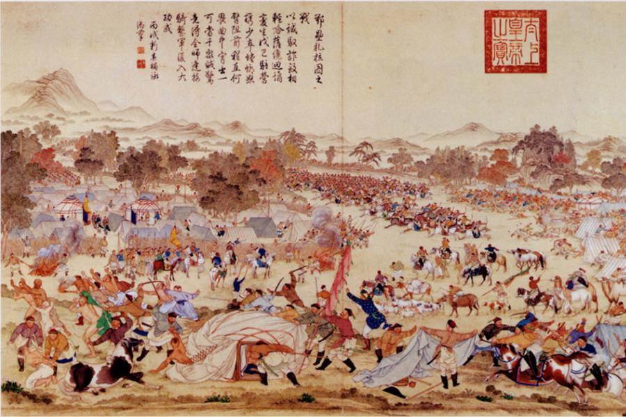 Mongol Battle