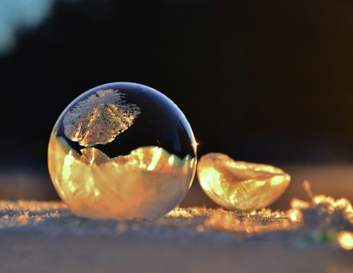 Frozen Bubbles Yellow