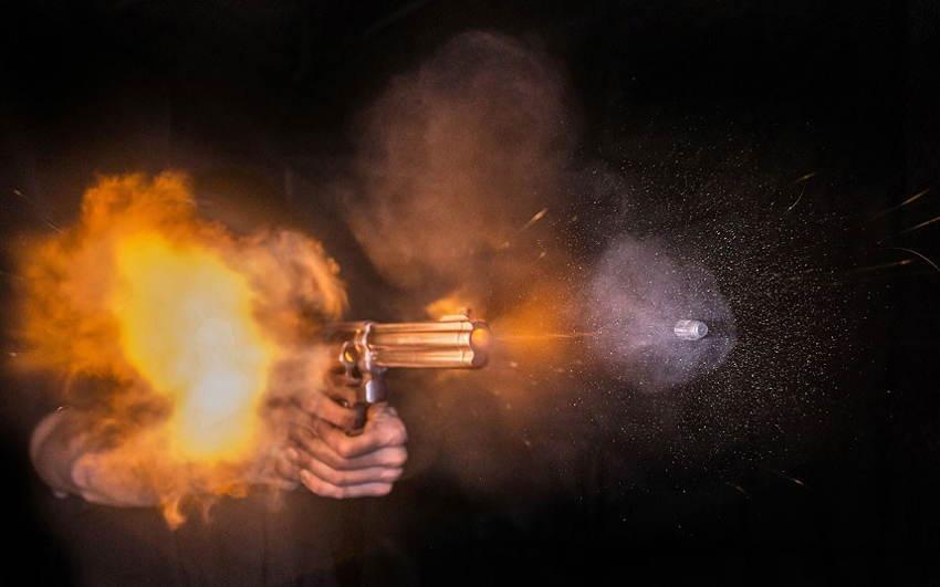 Guns Shot Orange