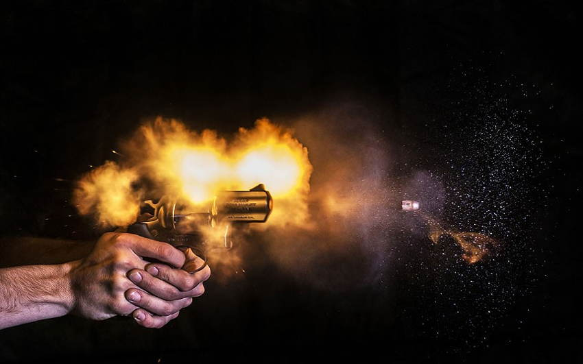 Guns Shot Yellow