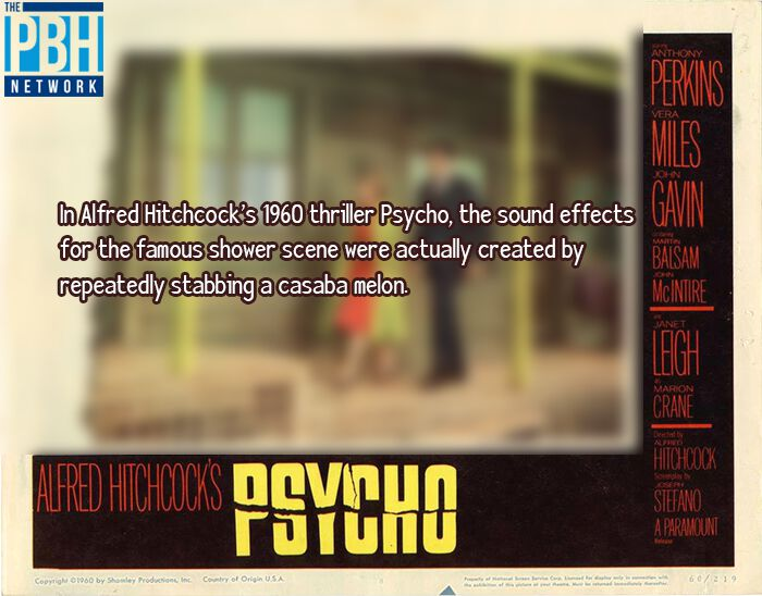 Interesting Facts About Alfred Hitchcock's Psycho