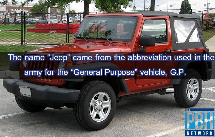 Interesting Facts The Jeep