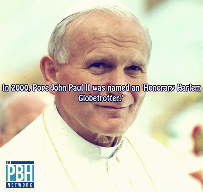 Interesting Facts Pope Is A Harlem Globetrotter