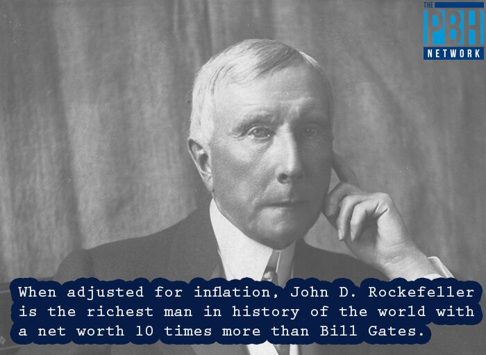 John D Rockefeller's Net Worth