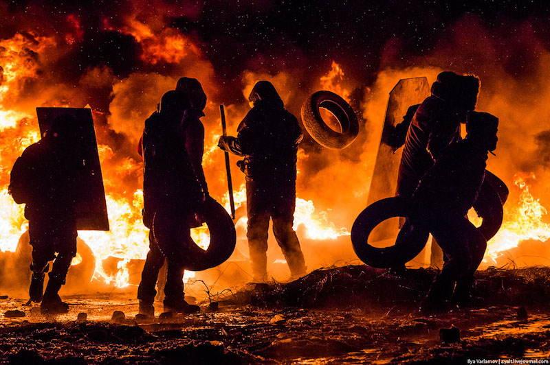 Kiev Revolution Tires