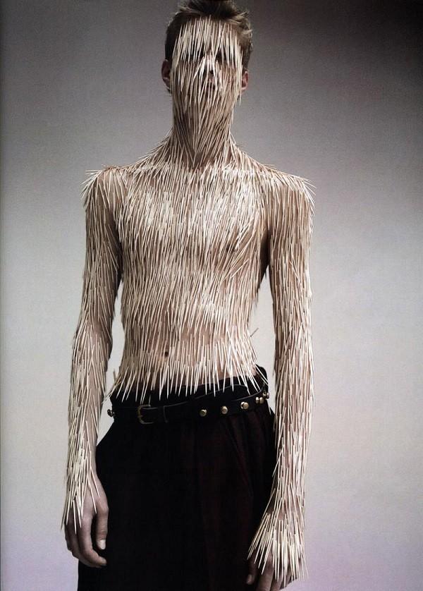 Human Porcupine