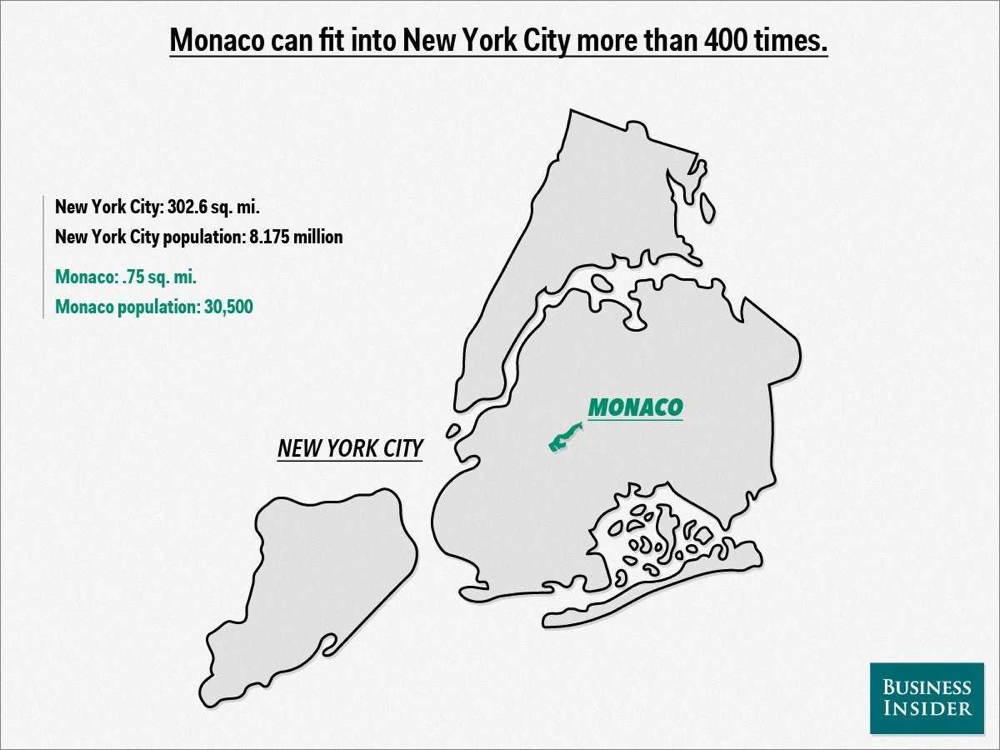 Map Overlays Monaco